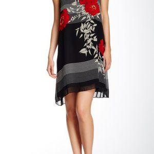 Max Studio Sleeveless Floral Shift Dress